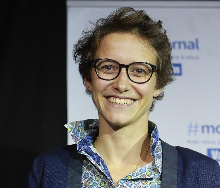 Justine Lipuma a remporté le Trophée de l'innovation, lors de la 21e édition du concours i-lab.
