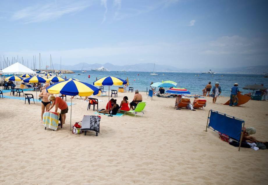 C'est à Bijou plage que les sapeurs-pompiers sont intervenus.