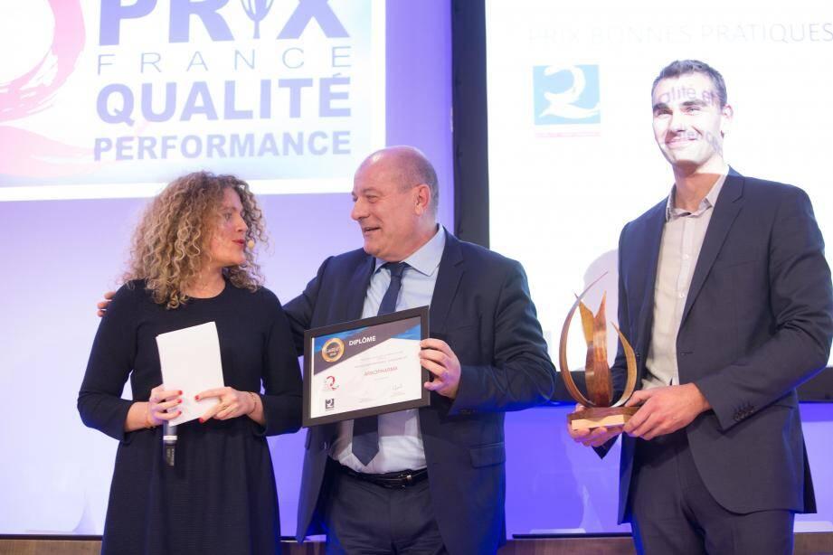 Dominique Cotteaux, directeur du Pôle Opérations d'Arkopharma, a reçu l'an dernier le Prix des Bonnes Pratiques, catégorie PME/PMI.