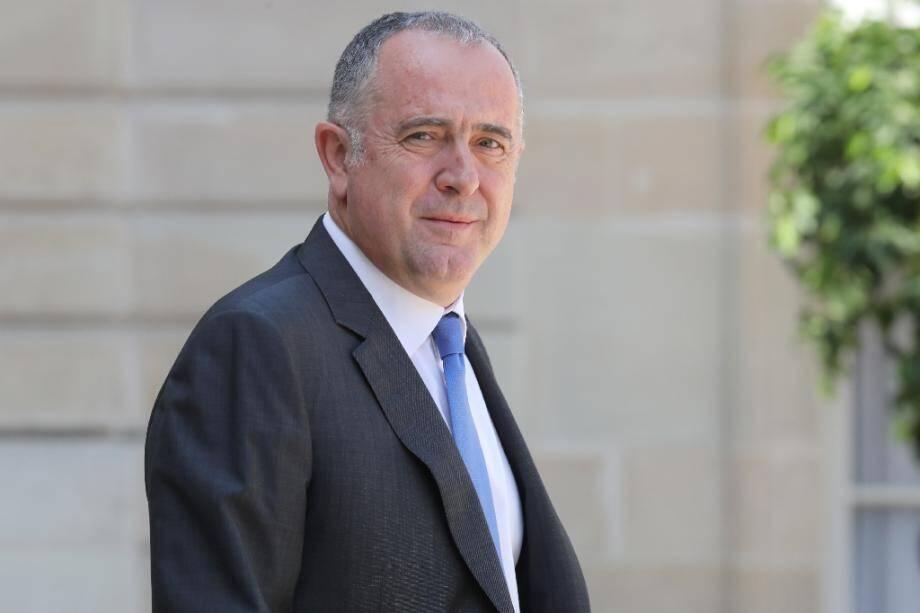 Le ministre de l'Agriculture Didier Guillaume le 24 juillet 2019 à Paris