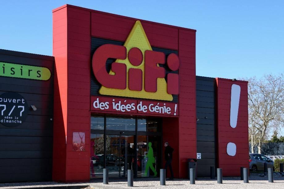 Un magasin Gifi le 20 mars 2019 à Toulouse.