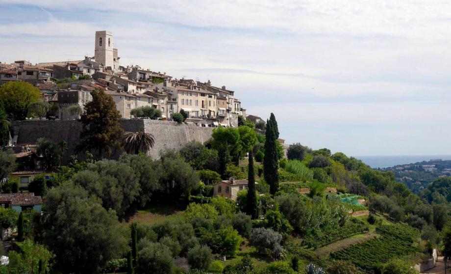 Le village de Saint-Paul-de-Vence.