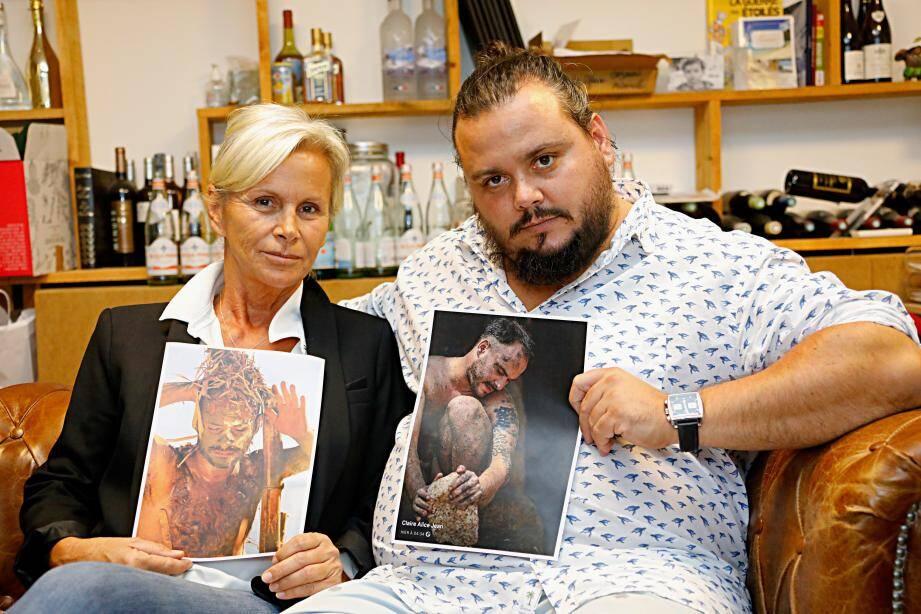 Martine Jaurgoyhen et Fred Vacherié, il y a environ un an : depuis, ils n'ont toujours pas obtenu justice.