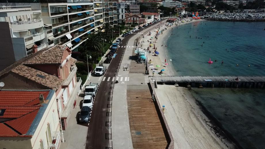Le boulevard Gazagnaire à Cannes.