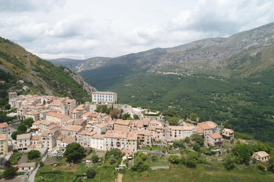 Une vue de Cipières.