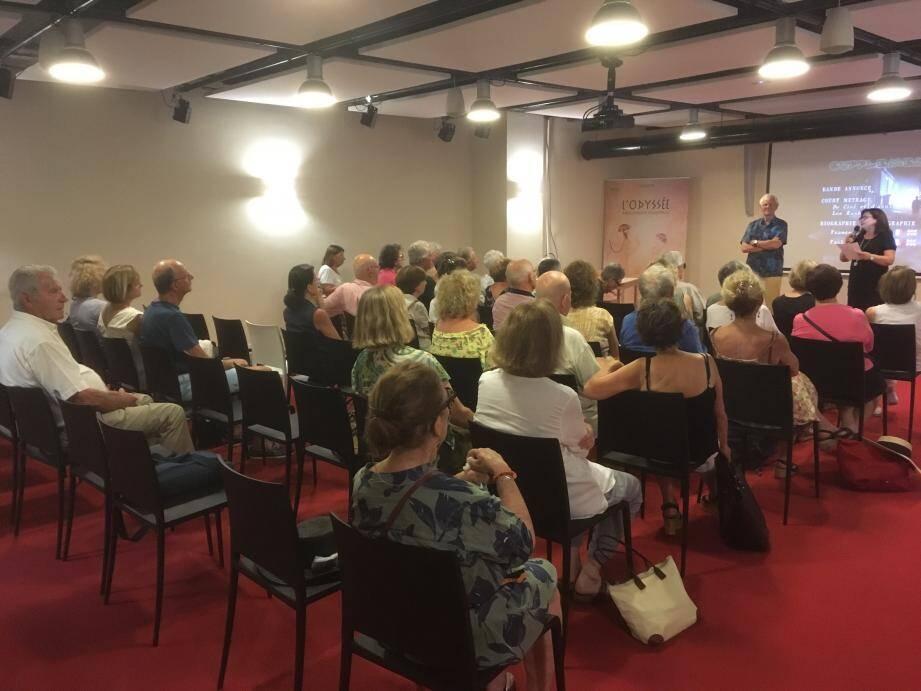 Une quarantaine de passionnés sont venus voir le film et écouter les anecdotes de Jacques Ridès.