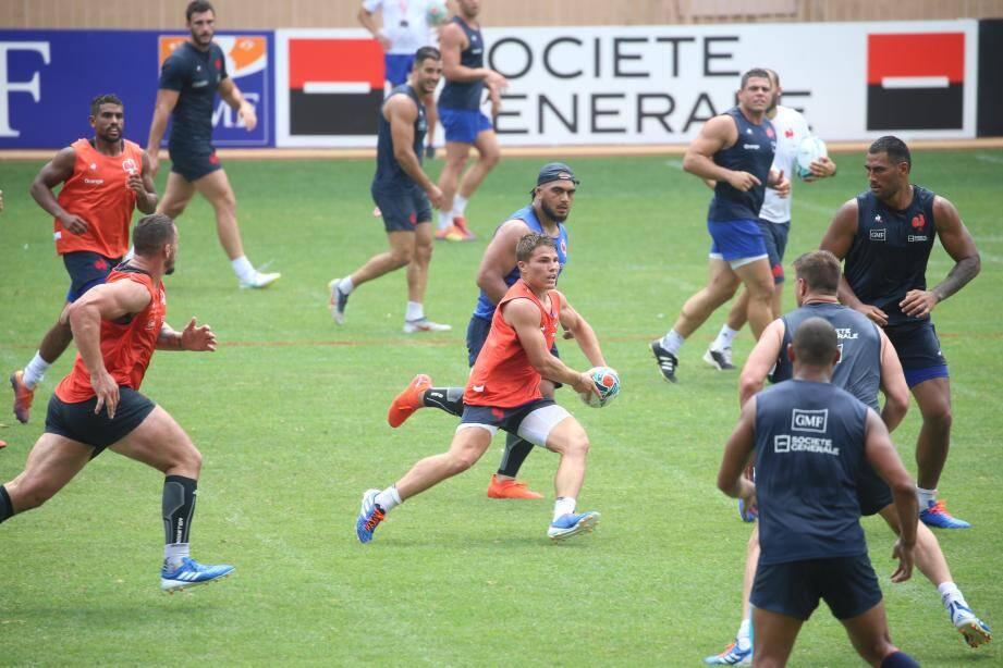 L'entraînement, basé sur la distance parcourue et la vitesse, a été de très haute intensité.