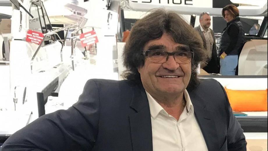 Jean-Marc Sandré, ancien chef d'entreprise à Cavalaire.