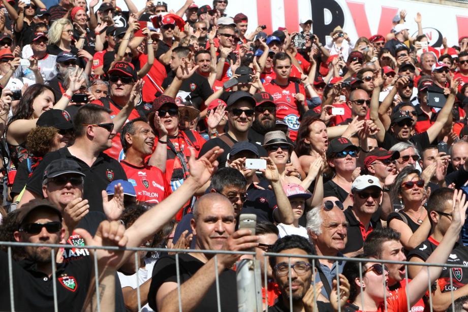 Les supporters toulonnais retrouveront leurs joueurs le 7 septembre pour un premier choc face à Lyon.