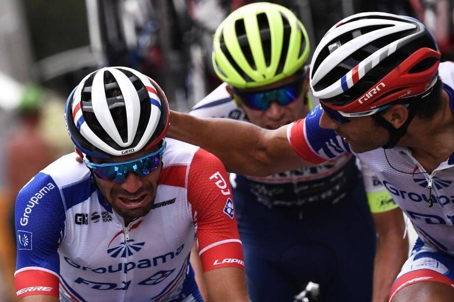 Thibaut Pinot a été contraint d'abandonner à 86km de l'arrivée de la 19e étape.