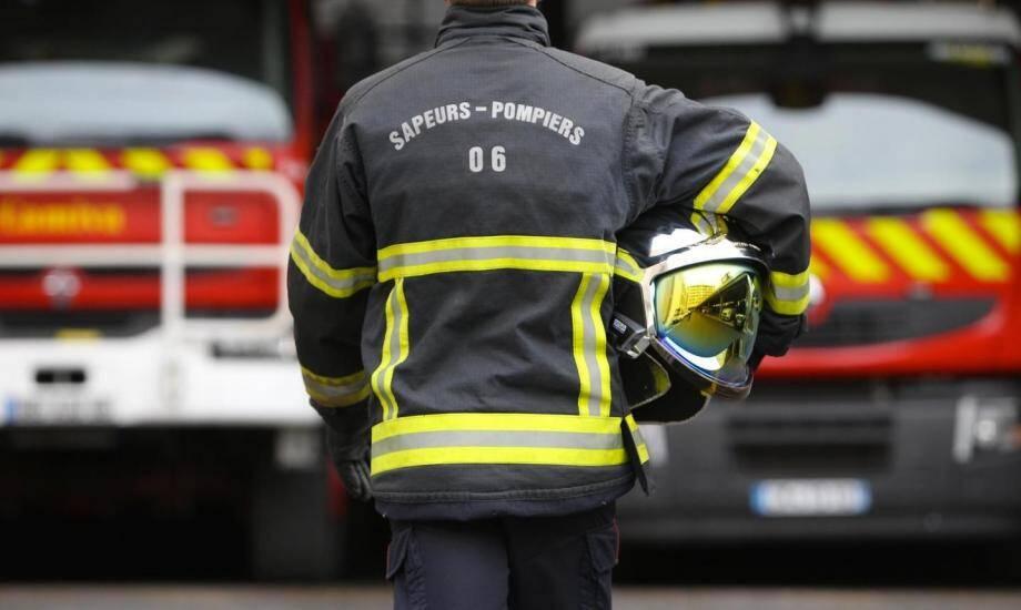 Image d'illustration d'un pompier.