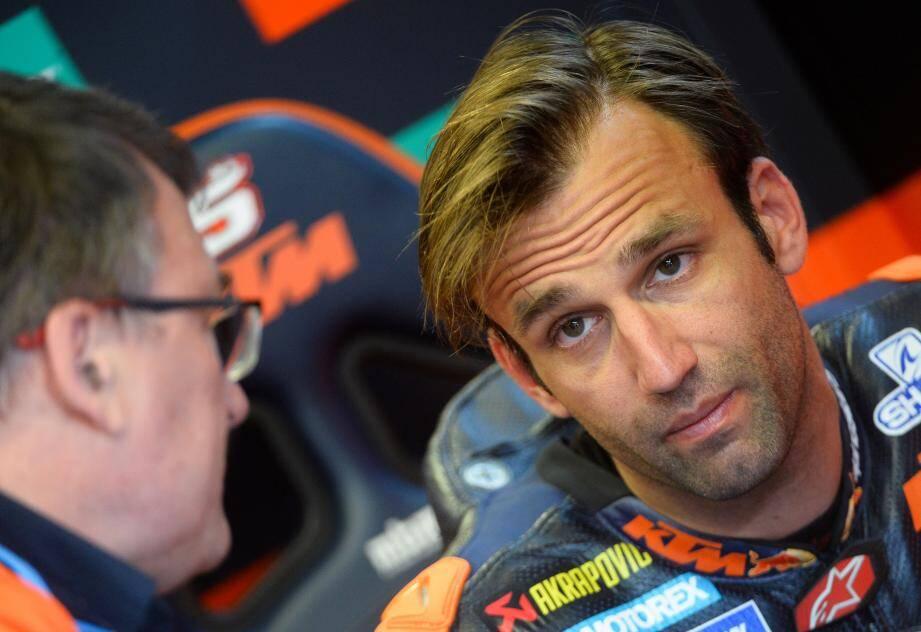 Le Cannois Johann Zarco, dépité par sa saison chez KTM, espère rebondir dans une autre écurie.