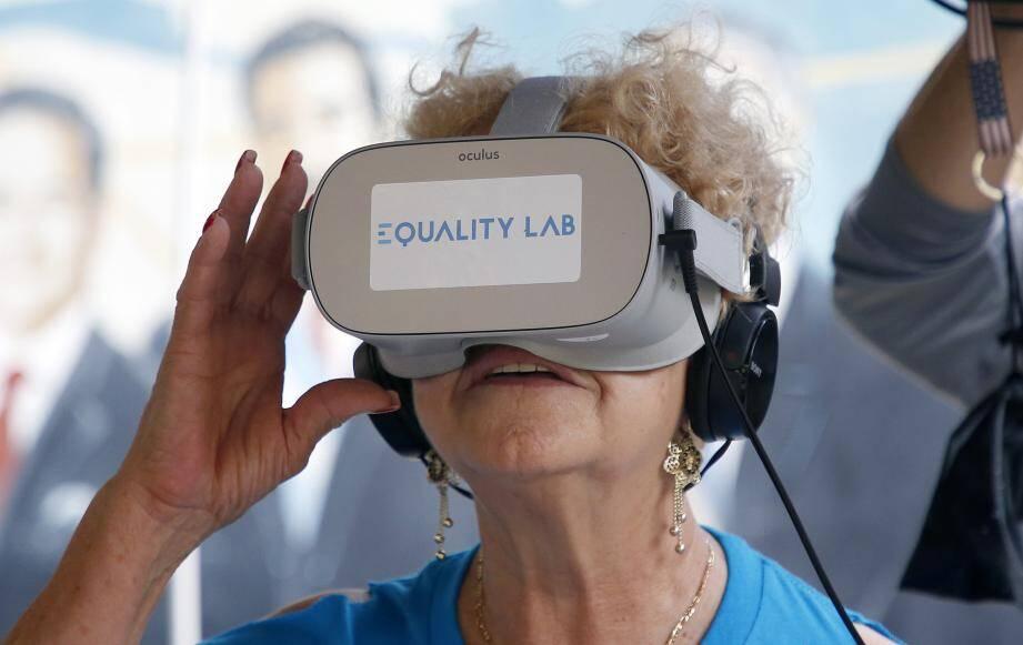 Avec le projet, baptisé VR Genie, les personnes âgées peuvent réaliser leurs rêves et lutter contre la dépression.