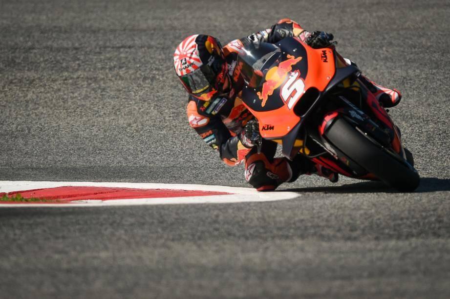 Le Cannois Johann Zarco lors des essais du  Austrian Moto GP Grand Prix à Spielberg.
