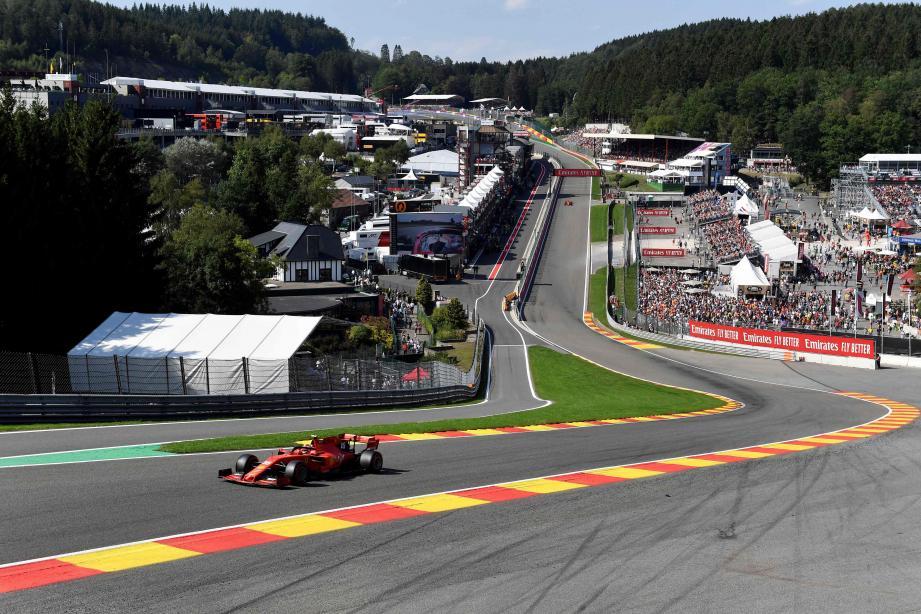 C'est la troisième pôle position de la saison de Charles Leclerc