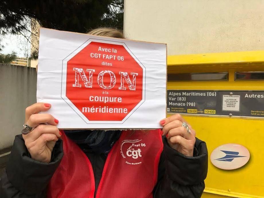 Mercredi matin, les facteurs de Roquebrune ont entamé une grève illimitée pour s'opposer à la future réorganisation du centre courrier.