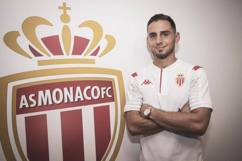 Ruben Aguilar à l'AS Monaco