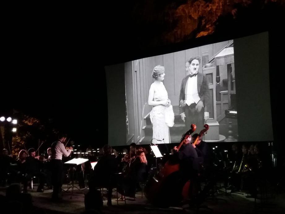L'union était parfaite entre la musique classique et le cinéma muet.