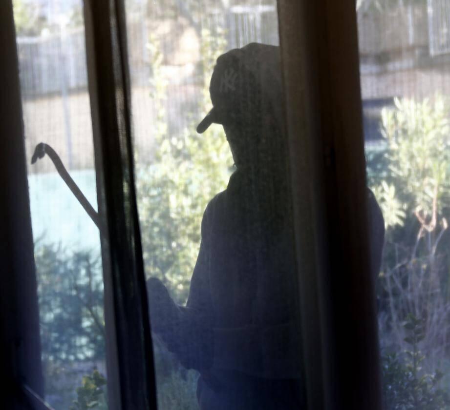 Le cambriolage a eu lieu au domicile d'un couple de nonagénaires.