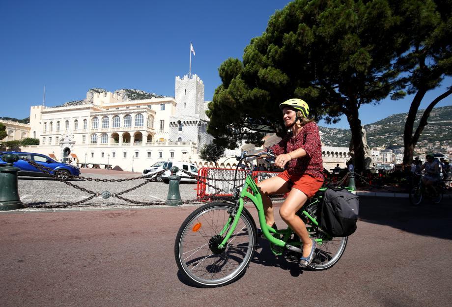 Douze kilomètres ont été parcourus durant cette balade à vélo.