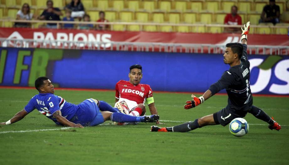 El Tigre a déjà frappé. Probablement son dernier but sous la tunique monégasque.