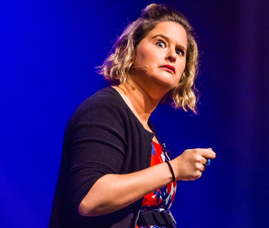 Élodie Poux,une des têtesd'affiche des Plagesdu rire 2019.