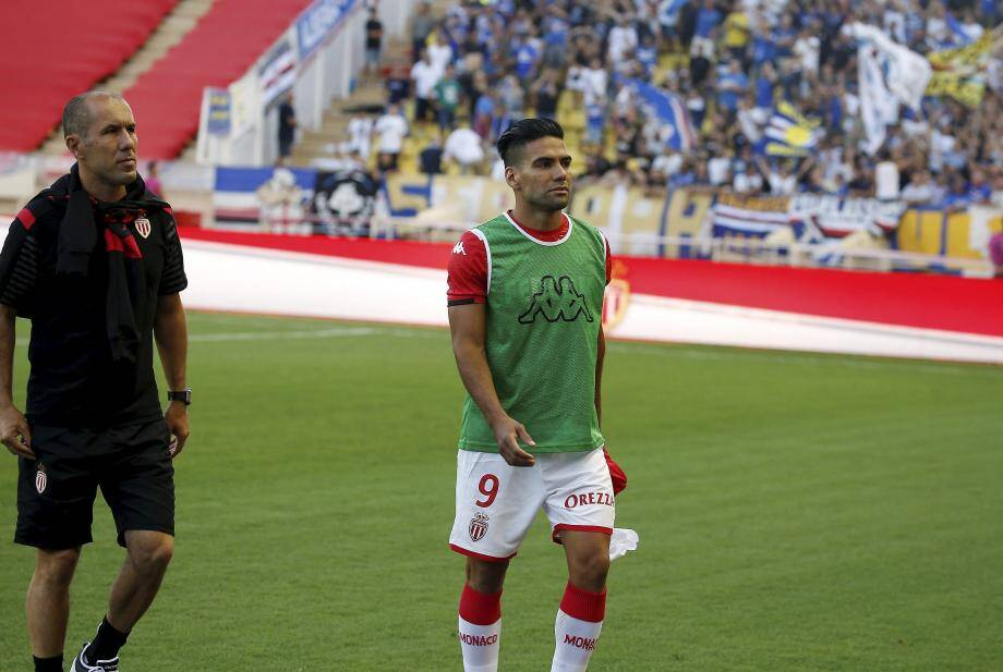 Leonardo Jardim pourra-t-il compter sur Radamel Falcao vendredi contre Lyon ?