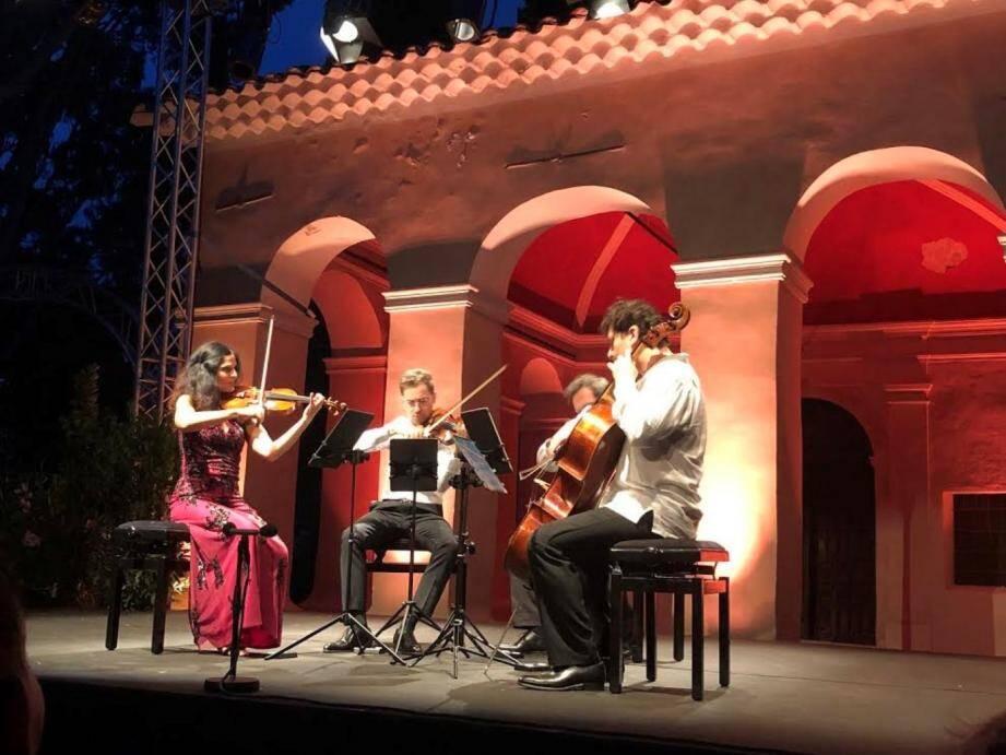 Le quatuor Belcea a conclu avec bonheur la 6e édition du Festival Notre-Dame-de-Vie.
