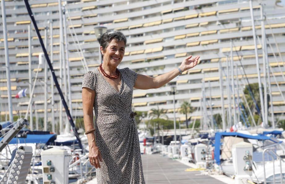 Sylvie Marchand a participé à l'aventure des Marinas.