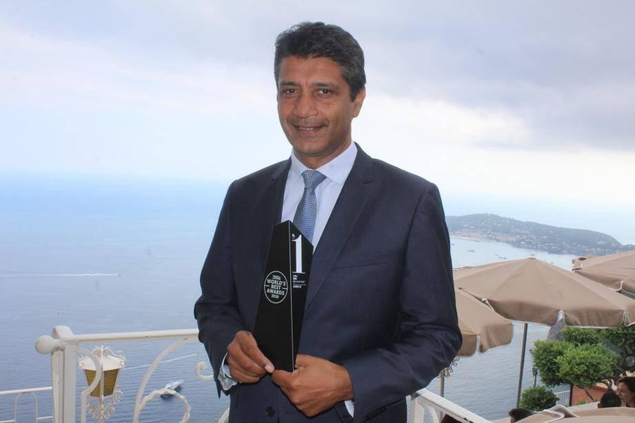 Thierry Naidu, un directeur très fier de ses équipes.