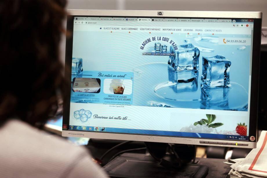 Cette société niçoise de père en fils depuis 1929 est le plus gros producteur de glace de la région.