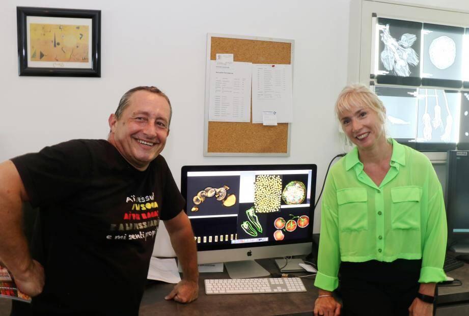 Franck Viano et Valérie Marco pensent déjà à radiographier gnocchis, pissaladière…