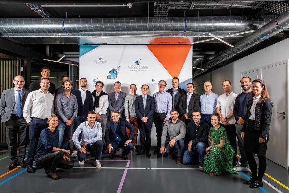 Seize startups forment aujourd'hui la famille MonacoTech.