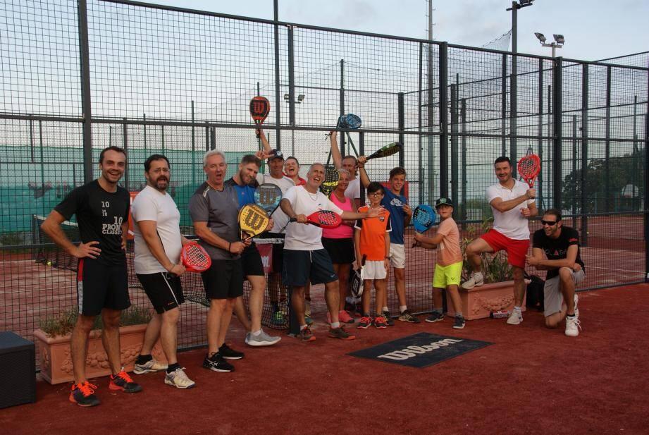 Inaugurés il y a quelques semaines, les deux terrains de padel du tennis club de Montaleigne, à Cagnes, font déjà des heureux.