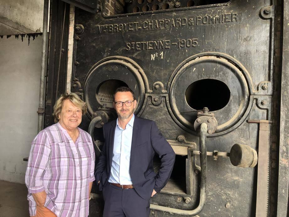 Renée Pugi, présidente et Guillaume Gillet directeur ouvrent une nouvelle page dans l'histoire du Nérolium.