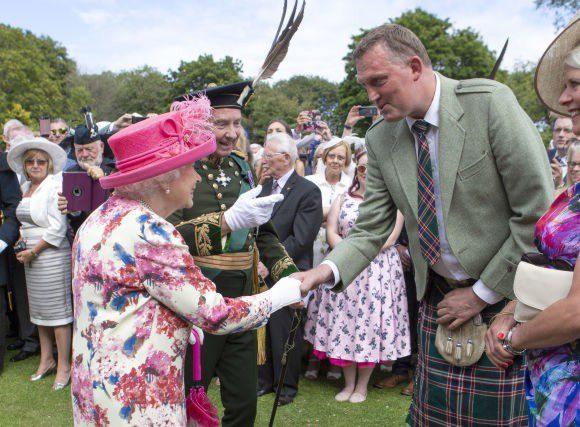 Mis à l'honneur par le Stade niçois, Doddie Weir a été anoblie par la reine d'Angleterre le 2 juillet au regard de son engagement contre la maladie de Charcot.(DR)