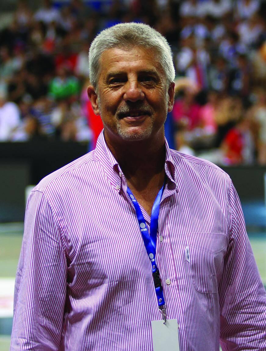 Philippe Manassero, président du CDOS, organisateur de la caravane du sport.