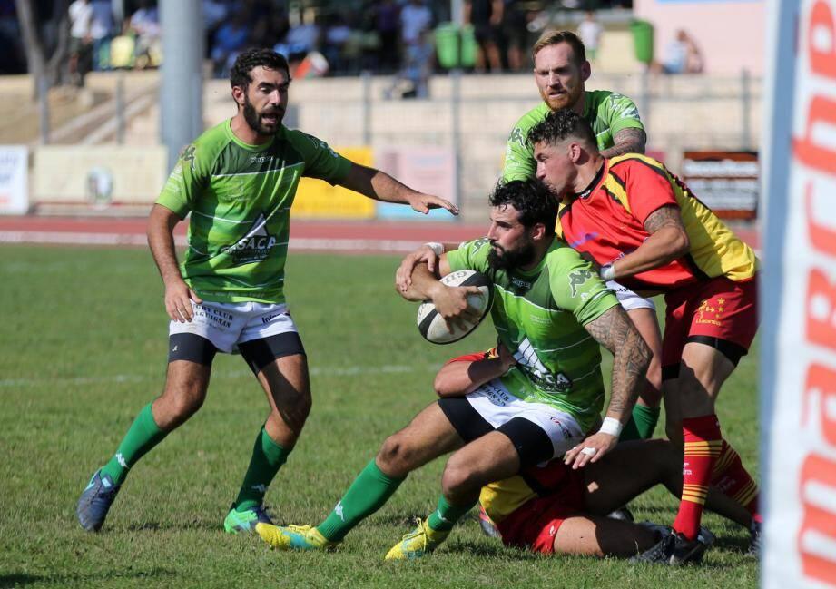 Les rugbymen dracénois ont désormais en ligne de mire un match amical face à Grasse suivi d'un stage de cohésion dans la foulée.