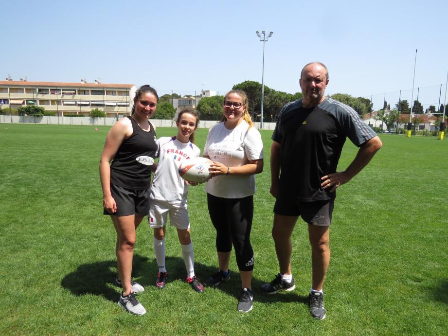 Sous la houlette de Philippe Garo, le club monte une équipe féminine pour les 15-17 ans.