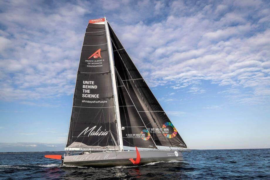 Malizia II pointait avant-hier à un peu plus de 2000 milles nautiques de New York. Arrivée prévue le 27 août.