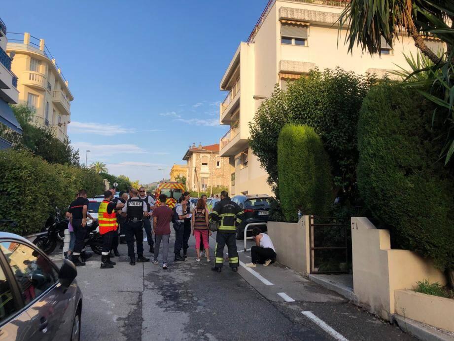 C'est dans un immeuble du nord de Nice que le drame s'est produit hier.