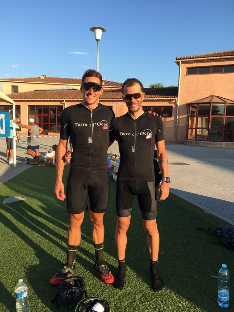 Jérémy Morel et Francky Favre les France de Triathlon en ligne de mire.