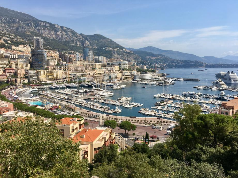 Vue sur Monaco