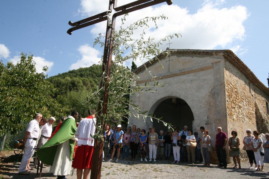 Bénédiction des campagnes et invocations pour la pluie à Saint-Augustin.