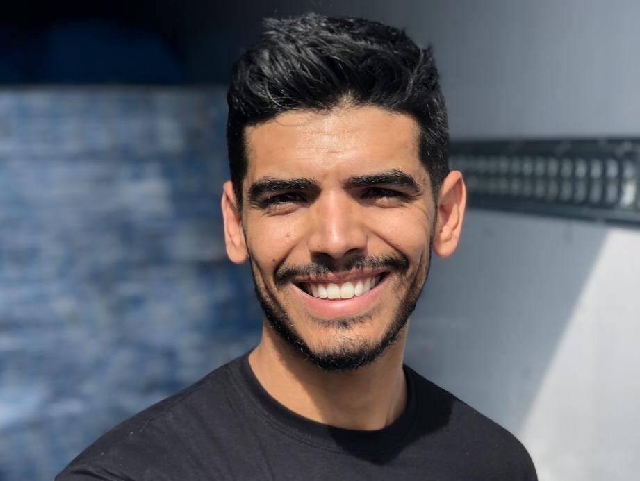 Karim Zouayani a créé son entreprise il y a trois ans.