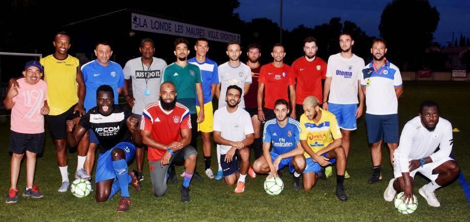 Les Londais de Zec Varéla ont peaufiné leur préparation à l'entraînement mardi soir (4e à gauche debout).