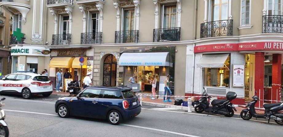 Le drame s'est déroulé dans le paisible quartier des Moneghetti hier vers 18 h 30, à Monaco.