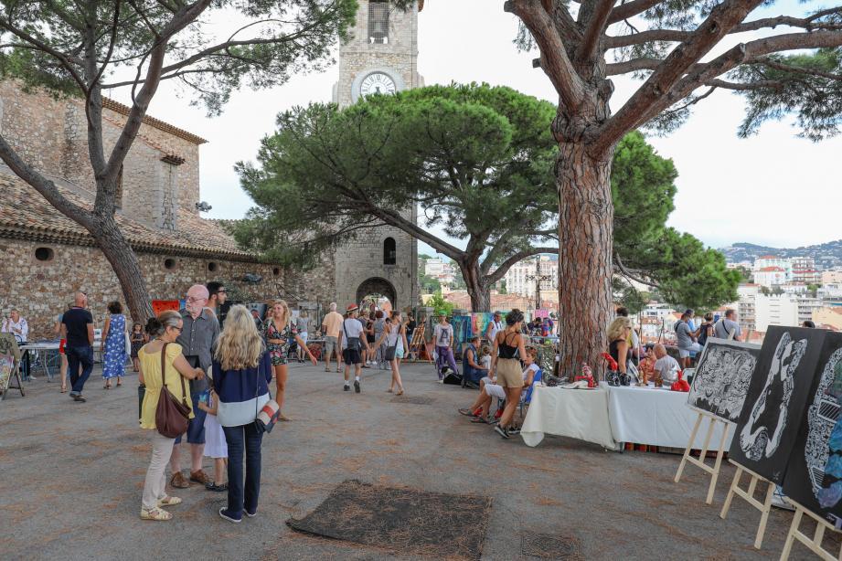 L'inauguration par le maire de Cannes aura lieu aujourd'hui à 19 heures sur la Place de la Castre.(DR)