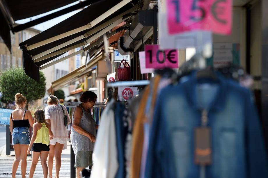La plupart des commerçants a joué le jeu des petits prix pour deux jours.
