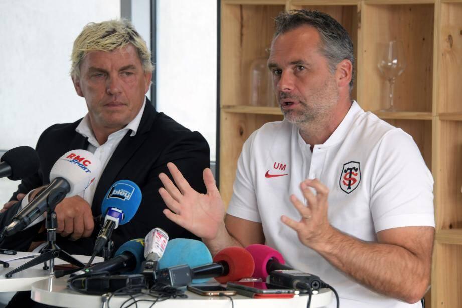 L'entraîneur du Stade Toulousain Ugo Mola s'attend à un premier gros test.